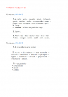correction Vocabulaire S9